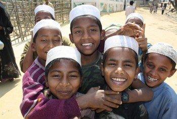 Des réfugiés Rohingya au Bangladesh. Photo IRIN/David Swanson