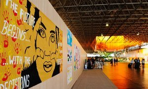 Exhibit on Sustainable Development hosted at Rio+20 Pavilion.