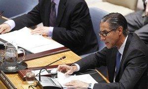 Le Sous-Secrétaire général aux affaires politiques des Nations Unies Oscar Fernandez-Taranco. Photo ONU/JC McIlwaine