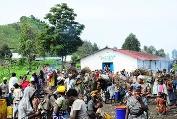 Thousands of people have been displaced by fighting in North Kivu, Democratic Republic of the Congo.