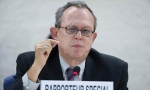 Special Rapporteur on the right to freedom of opinion and expression, Frank La Rue.