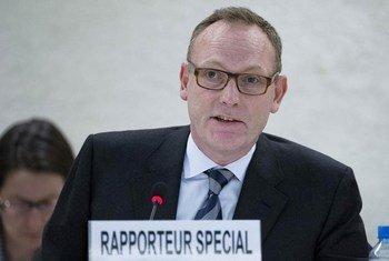 Ben Emmerson, relator especial sobre la protección de los derechos humanos en la lucha contra el terrorismo. Foto de archivo: ONU/Jean-Marc Ferré