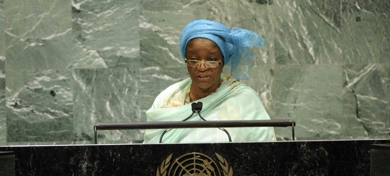 La Représentante spéciale sur la lutte contre les violences sexuelles dans les conflits, Zainab Hawa Bangura.