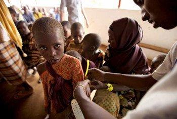 Refugiados somalíes<br>en Kenya