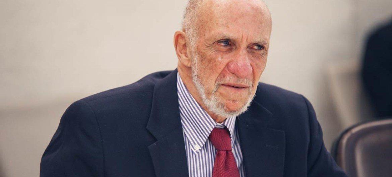 Special Rapporteur Richard Falk.