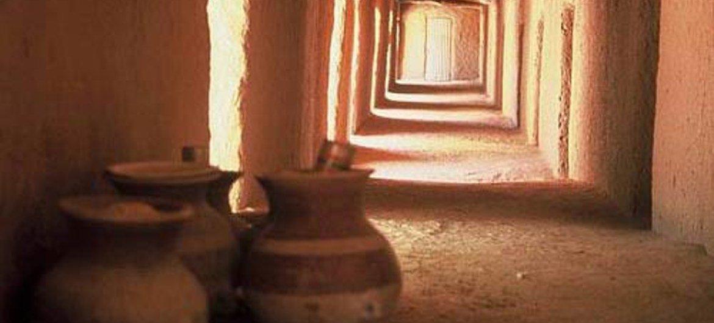 Tomb of Askia, Mali.