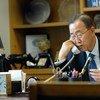 الأمين العام للأمم المتحدة، بان كي مون. صورة الأمم المتحدة