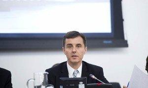 President of ECOSOC Miloš Koterec.