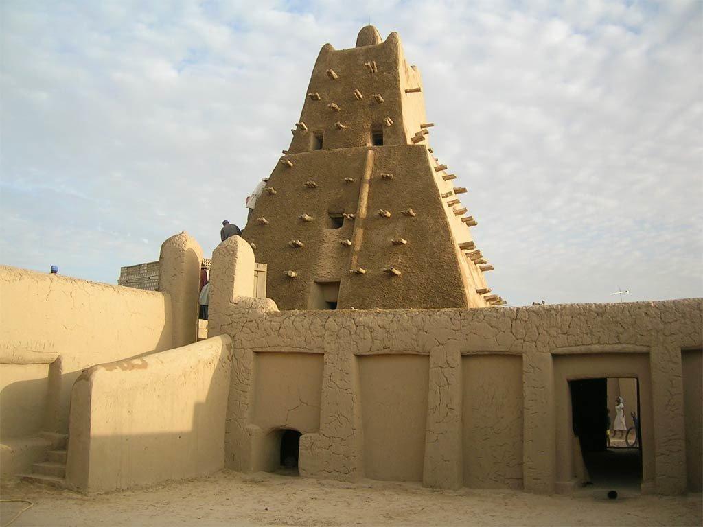 La mosqué de Sankoré dans la ville de Tombouctou, dans le nord du Mali.