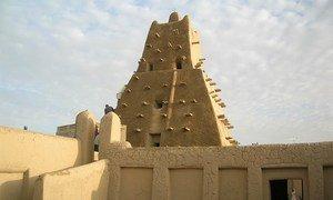 La cité de Tombouctou, dans le nord du Mali.