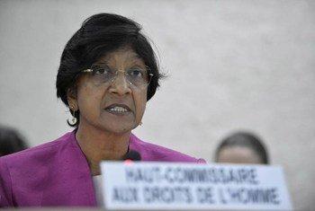 Верховный комиссар ООН</br> по правам человека Нави Пиллэй