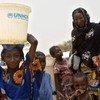 Malian refugees in Niger.