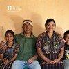 Une des affiches choisie par le Fonds des Nations Unies pour la population (FNUAP) pur la Journée mondiale de la population 2012.
