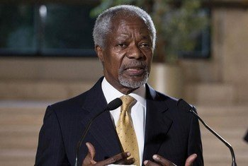 Кофи Аннан в должности Специального посланника ООН по сирийскому урегулированию