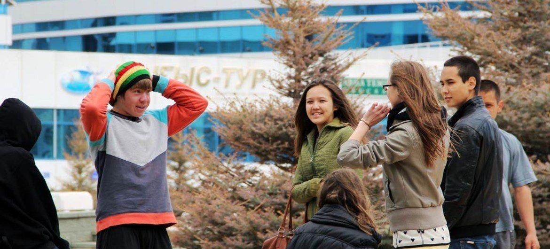 Подростки. Фото Всемирного банка/Гульбакыт Дуйсенова