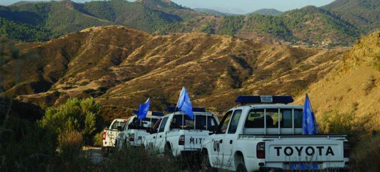 Des Casques bleus de l'UNFICYP patrouillent dans le secteur 1 à Chypre (archives).