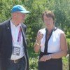 UNEP Executive Director Achim Steiner (right) beside UK Secretary of State Caroline Spelman at the Olympic Park in London.
