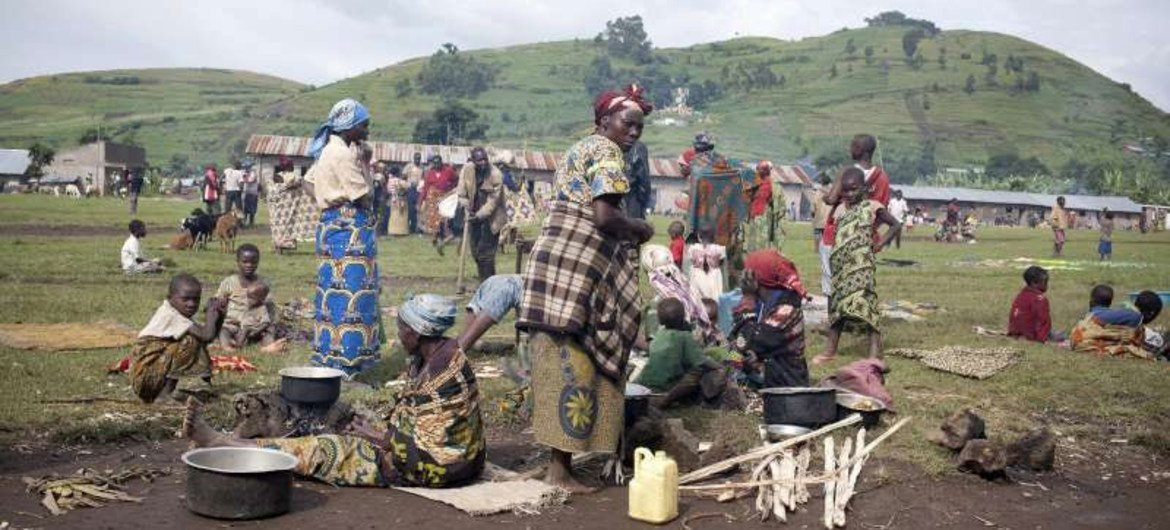 Displaced people in eastern Democratic Republic of the Congo are often subject to indiscriminate attacks as fighting continues between government and rebel troops.