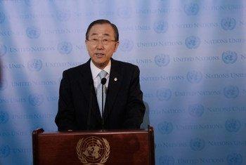 Le Secrétaire général des Nations unies Ban Ki-moon. Photo ONU/Devra Berkowitz