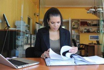 La relatora especial de la ONU para las Cuestiones de las Minorias, Rita Izsak  Foto; OHCHR
