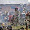 Desplazados por el conflicto en Kivu del Norte. Foto de archivo:  IRIN/Siegfried Modola