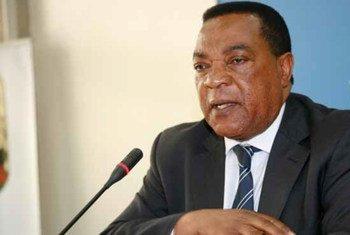 Le Représentant spécial du Secrétaire général pour la Somalie, Augustine Mahiga.