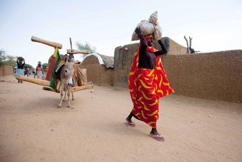 Many of the displaced persons who had fled Kassab camp to Kutum town, North Darfur have returnd to their camp. UNAMID/A. Farran
