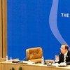 Secretary-General Ban Ki-moon addresses the 16th Summit of the Non-Aligned Movement.