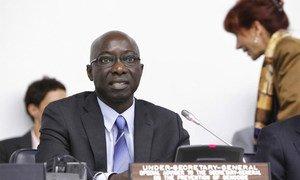 Le Conseiller spécial pour la prévention du génocide, Adama Dieng.