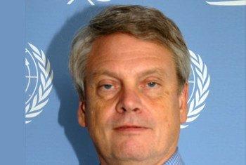Robert E.Sorenson, Deputy Special Representative of the Secretary-General for the Interim Administration Mission in Kosovo.