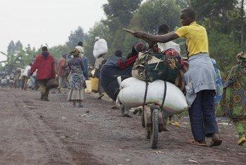 刚果(金)流离失所的平民
