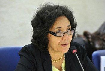 秘书长刚果民主共和国特别代表兼联刚稳定团团长泽鲁居伊(Leila Zerrougui)。