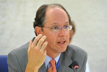 Pablo de Greiff, relator especial de la ONU sobre justicia transicional. Foto: ONU/Violaine Martin
