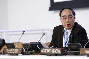 Under-Secretary-General for Economic and Social Affairs Wu Hongbo.