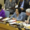 Leila Zerrougui, Secretary-General for Children and Armed Conflict, addresses the Security Council.