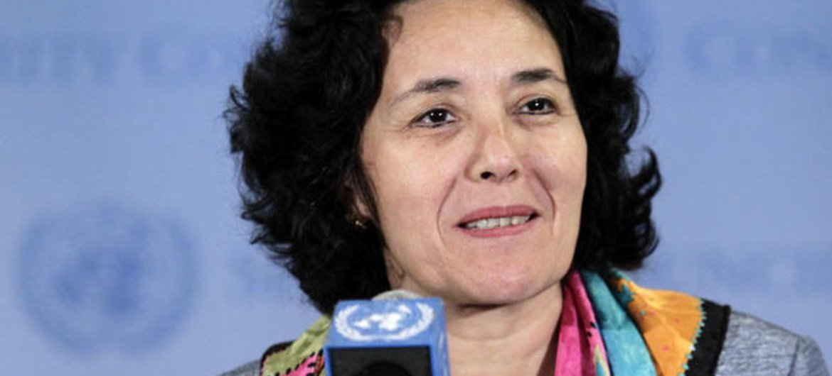 Leila Zerrougui, Special Representative of the Secretary-General for Children and Armed Conflict.