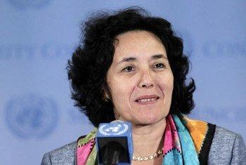 La Représentante spéciale du Secrétaire général pour les enfants et les conflits armés, Leila Zerrougui.