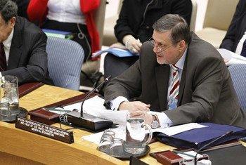Le Représentant spécial du Secrétaire général pour l'Afghanistan, Jan Kubis. ONU Photo/JC McIlwaine