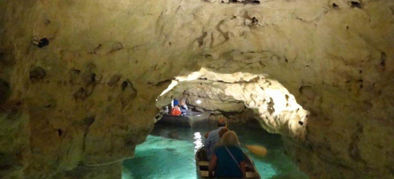 Tapolca lake cave in Bakony Balaton, Hungary.