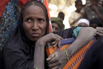 Une réfugiée malienne à Mangaize, dans le nord du Niger.