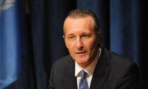 Executive Secretary of the Comprehensive Nuclear-Test-Ban Treaty Organization Tibor Tóth.