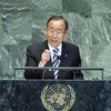 Secretary-General Ban Ki-moon addresses world leaders gathering for the high-level debate of the 67th General Assembly Session.