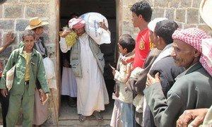WFP Responds To Urgent Needs In Yemen.
