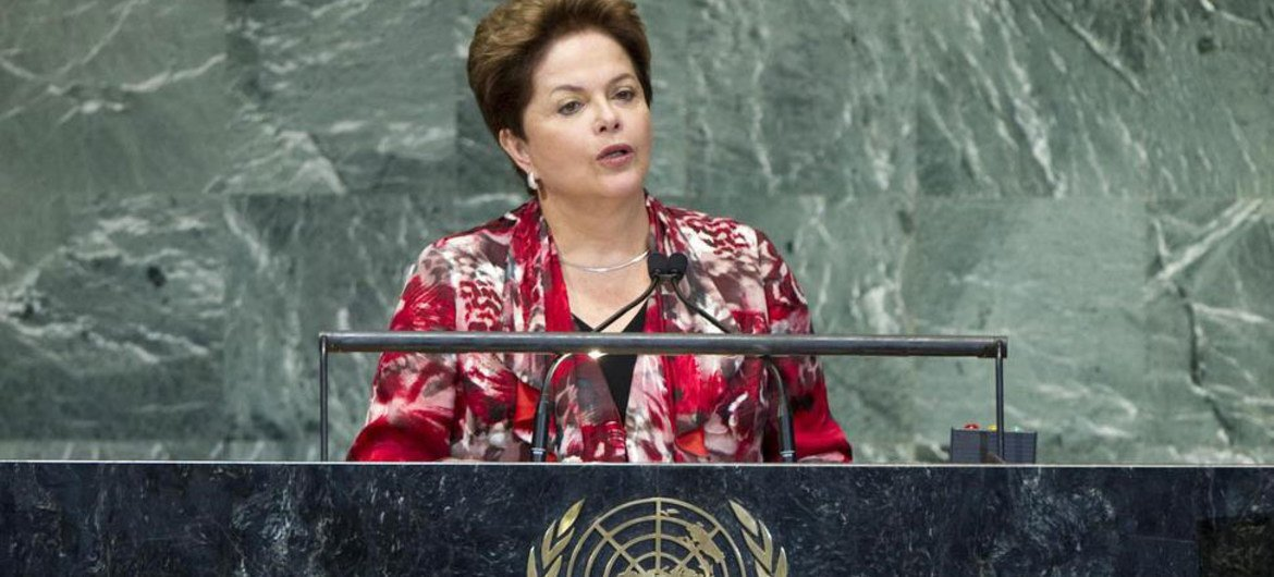 Brazilian President, in address to UN, calls for joint efforts to