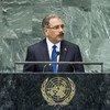 President Danilo Medina Sánchez of the Dominican Republic addresses General Assembly.
