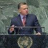 King Abdullah II of Jordan addresses the General Assembly.