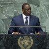 President Macky Sall of Senegal addresses the General Assembly.