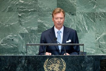 Le Grand-Duc Henri de Luxembourg. Photo ONU/Jennifer S Altman