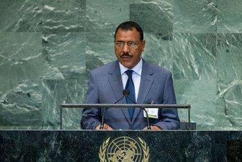 Le Ministre des affaires étrangères du Niger. Photo ONU/Marco Castro