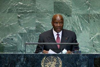 Le Ministre des affaires étrangèreas de la Côte d'Ivoire. Photo ONU/Marco Castro